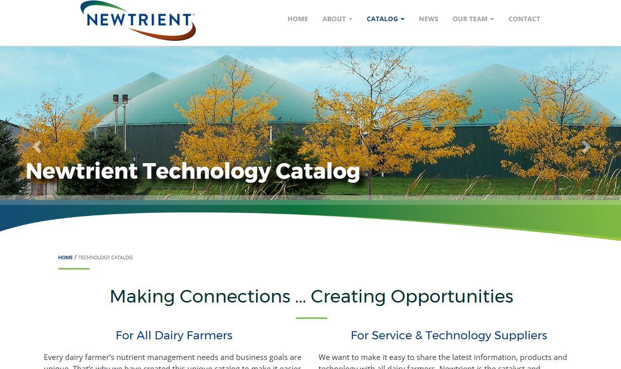 newtrient catalogue